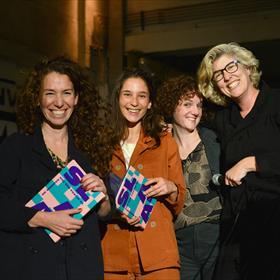 Team SLAA: Maya Shamir, Sanne Pieters, Esther Kuijper, Daphne de Heer.
