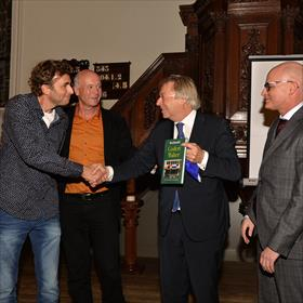 Allard Steenbergen, Anton Scheepstra, Peter den Oudsten, Erwin de Vries.