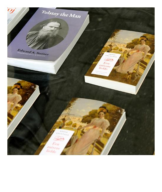 6 mei 2011 - Boekpresentatie Sofja Tolstaja's Een zuivere liefde, Amsterdam