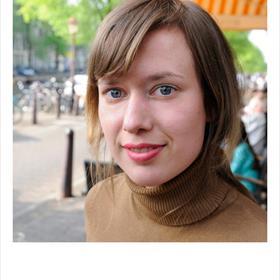 Janne Colenbrander (publiciteit en promotie, uitgeverij Athenaeum-Polak & Van Gennep). 'Wij staan voor meer waardering voor de vertaler.'