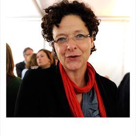 Marja van Nieuwkerk (bestuurslid Nederlands Letterenfonds).