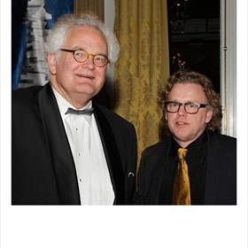 René Hollaers (boekhandelaar Van Kemenade en Hollaers), Adriaan Langendonk (landelijk projectleider Kunst van Lezen).