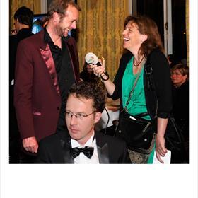 Jan van Mersbergen (genomineerd voor Naar de overkant van de nacht) verspreidt alweer vreugde bij Colette van Nunen (Radio 2)