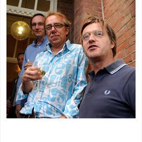 Non-fictie tot de hogere macht: Kees Moeliker (bioloog), Jan van der Mast (auteur 'De kleine Keizer'), Gerbert van der Aa (historicus en journalist).
