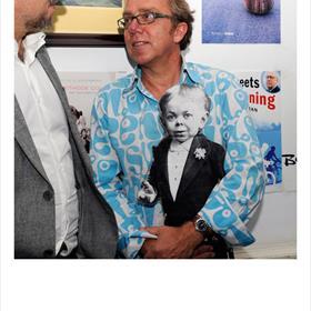 Familiebedrijf: Jan van der Mast met oom Gerrit, de kleine Keizer.