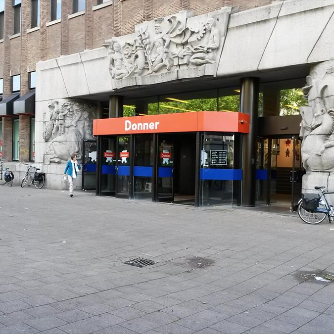Opening boekhandel Donner Rotterdam