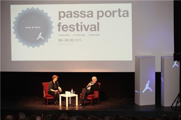 Auteurs van Wereldbibliotheek op het Passa Porta Festival 2015