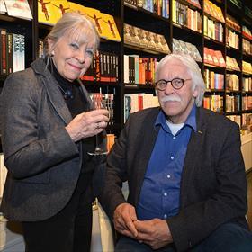 De senioren van het boekhandelaarsgeslacht Van der Velde.
