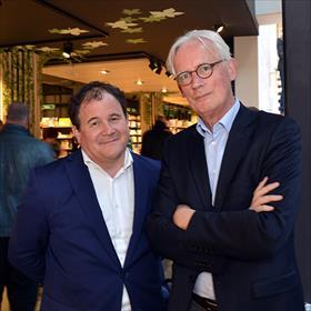 De twee marketeers: Eppo van Nispen (directeur stichting CPNB), Henk Kraima (strategisch adviseur cultuur en maatschappij).