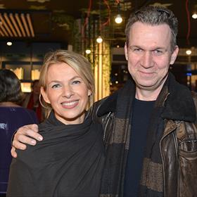 Manuele Klerkx (partner van -), Oscar van Gelderen (uitgever Lebowski uitgevers).