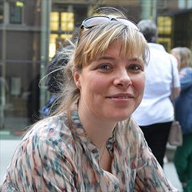 .... en zij is daarin niet alleen. Julia Foldenyi (foreign rights manager, Shared Stories VBK uitgevers).
