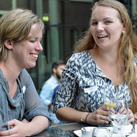 Maaike van Riel (Van Riel redactie), Mirjam Hoekstra (Freelance redacteur).