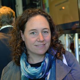 Ook een fan van Lisa: Annemieke Tetteroo (Uitgeverij De Geus / World Editions).