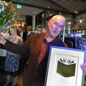 Dik Broekman (uitgever Rubinstein) -100.000verkochte exemplaren vanHet Muizenhuis van Karina Schaapman.
