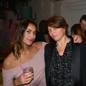 Langs de dansvloer. Sarinah Garssen (neerlandica), Hanneke Marttin (communicatie, Letterenfonds).
