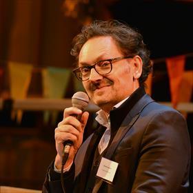 Michaël Vandebril (moderator, directeur Antwerpen Boekenstad).