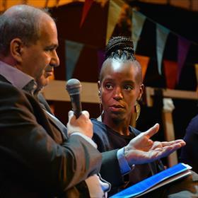 Joods-Belgisch: Claude Marinower (Schepen van de stad Antwerpen), Afro-Kempenaar Dalilla Hermans (journalist en Sesam-auteur).