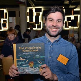 llustrator Dieter De Schutter ('Het wispelturig windorkest').