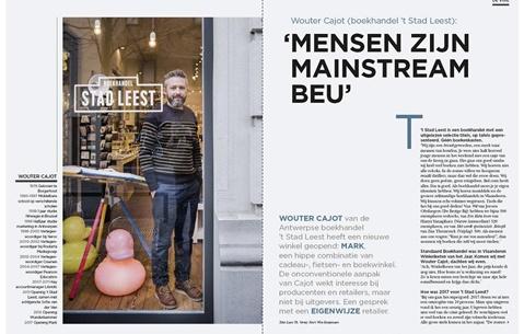 Wouter Cajot (boekhandel 't Stad Leest): 'Mensen zijn mainstream beu'