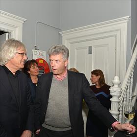Dick Anbeek (oud-bestuurder KBb), Maarten Asscher (boekenvakfuturoloog).