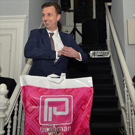 Fabian Paagman (boekhandel Paagman, Den Haag, v/h bestuurslid KBb).