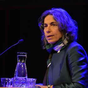 Caroline Damwijk (directeur Libris Blz). 'Boekhandels kunnen het verschil maken. In een samenleving. In een regio. In een straat.'