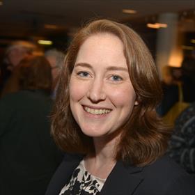 Marcia Leushuis (bedrijfsleidster boekhandel Broekhuis Almelo).