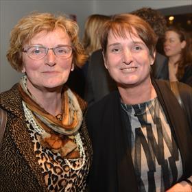 Mariet Broekhuis, Ingrid van den Berg (Boekhandel Broekhuis).