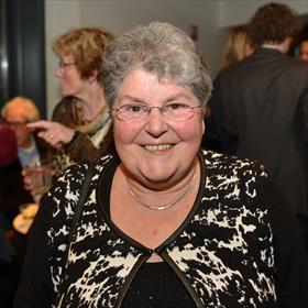 Nu afgezwaaid maar 35 jaar in het boekenvak: Gerdie Leijdekkers.