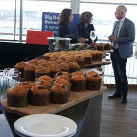Voor de inwendige mens: muffins!