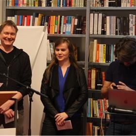 Martijn Lindeboom,  Soraya Vink en Sander Verheijen hebben er zin in.