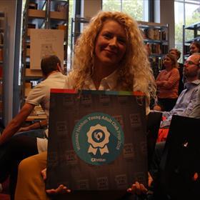 De Hebban YA Clubprijs was voor Sylvia Van Driessche.