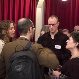 Sander Grasman (projectmedewerker Expertisecentrum Literair Vertalen en vertaler Engels en Italiaans-Nederlands).