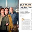Harminke Medendorp, Ruth Bergmans en Maarten Richel:  'De schrijver is de captain van ons team'
