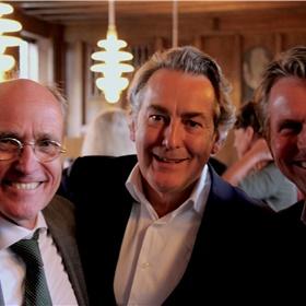 Wouter van Gils, Arjen Holl en John Boom van Koninklijke Boom uitgevers