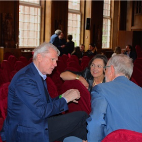 Adriaan van Dis, Gerdi Verbeet en Luc Devoldere (op de rug)