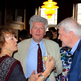 Lieve Joris, Maarten Asscher en Adriaan van Dis