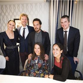 Zij organiseerden het allemaal: het productieteam van 'Start jouw leesclub' en de Libris Literatuur Prijs.