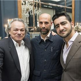 Drie Librisprijswinnaars: Alfred Birney (2017), Abelkader Benali (2003) en Murat Isik (2018).