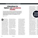 Literatuur in tijden van moderne media: Sander Bax over de schrijver als mediafiguur