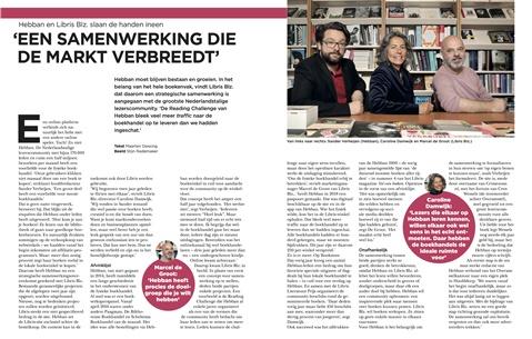 Hebban en Libris Blz. slaan de handen ineen: 'Een samenwerking die de markt verbreedt'