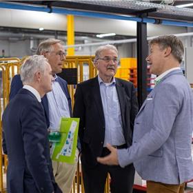 Guus Kemperink (Kemperink Maarschalkerweerd Wouters), Peter Dirks (RvC CB), Geert Noorman (RvC CB), Rombout Eikelenboom (Printforce)