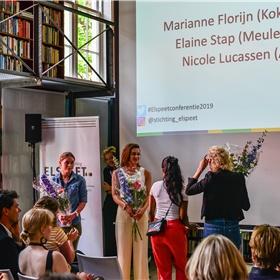 De winnaars van Mee naar de Messe - Marianne Florijn, Elaine Stap, Nicole Lucassen