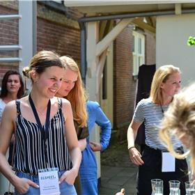 Nanouk Meijer (Harper Collins), Fleur Smid (Blossom Books) en Ruth van Gessel (Kobo)