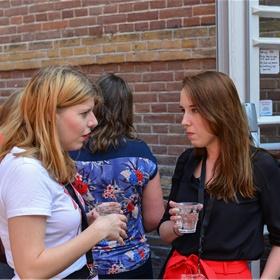 Saartje Kuijs en Eveline van der Made