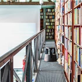 Locatie is de sfeervolle Letterenbibliotheek