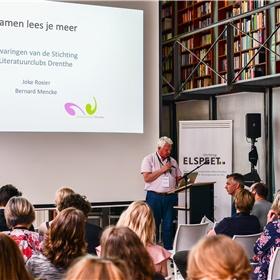 Bernard Mencke van Stichting Literatuurclubs Drenthe