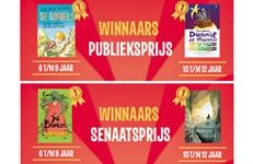Prijzen Nederlandse Kinderjury voor Jochem Myjer, Tosca Menten, Carry Slee en Linda Dielemans