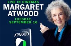 Boekpresentatie Atwood live te zien in de bioscoop