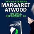 'Boekpresentatie Atwood live te zien in de bioscoop